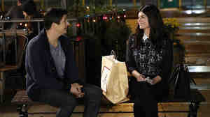 Ken Marino and Casey Wilson star in NBC's Marry Me.
