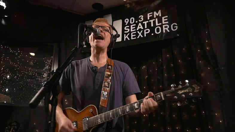 The New Pornographers' Carl Newman, live at KEXP.