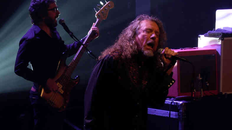 Robert Plant and The Sensational Space Shifters had the sold-out crowd at the Brooklyn Academy of Music simply ecstatic.