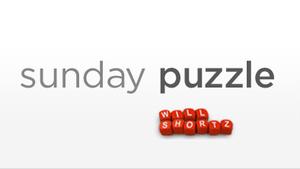 Sunday Puzzle