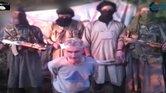 Integrantes del grupo Soldados del Califato antes de asesinar al francés Herve Gourdel.