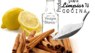 Productos para limpiar cocina