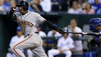 El tercera base dominicano Joaquín Arias y los Giants van por su tercer título en la historia de Grandes Ligas.
