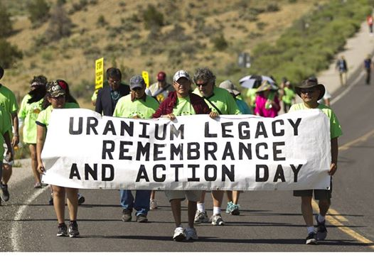 Photo: Toxic uranium mining threatens Native communities across the southwest.  A proposed rule by EPA would make things worse.  Tell EPA: continue radon air monitoring and limits on toxic waste ponds! http://bit.ly/1waWnrR