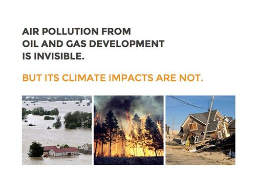 Photo: Today we ran an ad in the Washington Post calling on President Obama to #ActOnClimate and regulate methane emissions from fracking.  Methane is 86x worse than CO2 for climate. This can't wait.  Demand action now! Visit http://cutmethane.org to see our ad and take action today.