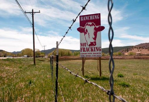 Photo: The first local US ban on oil and gas drilling and fracking survived a County vote, but could face another repeal vote in January.  An update on the Mora County, NM ban here: http://bit.ly/ZxTVyj