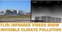Infrared videos show air pollution from fracking in Denton, Texas still hasn't been addressed by regulators.  Despite industry promises to operate responsibly, videos show chronic, ongoing releases of volatile organic compounds (VOCs) within city limits: http://bit.ly/1vHZZkF cc: Frack Free Denton