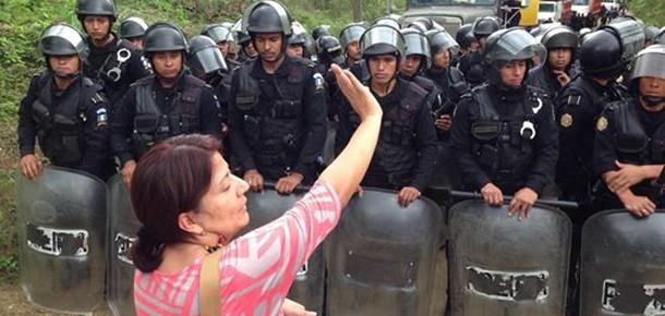La Puya Protest