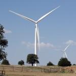 An Oklahoma wind turbine