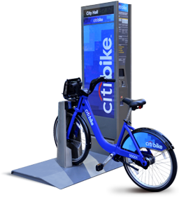 Estación de Citi Bike.