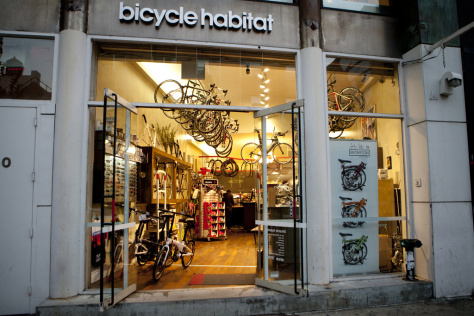 Bicycle Habitat, Bike Shop. Nueva York.