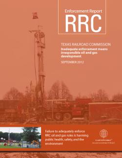 Enforcement Report - RRC