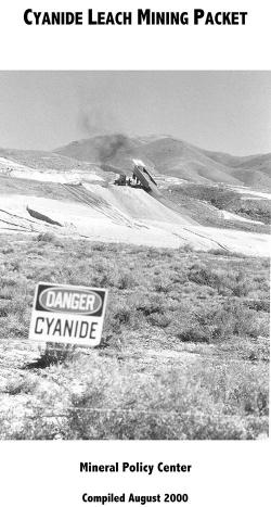 Cyanide Heap Leach Packet