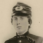 "1st Lt. Alonzo Cushing, shown in an undated photo provided by the Wisconsin Historical Society, is expected to get the nation's highest military decoration --€"" the Medal of Honor --"" this summer, nearly 150 years after he died at the Battle of Gettysburg."
