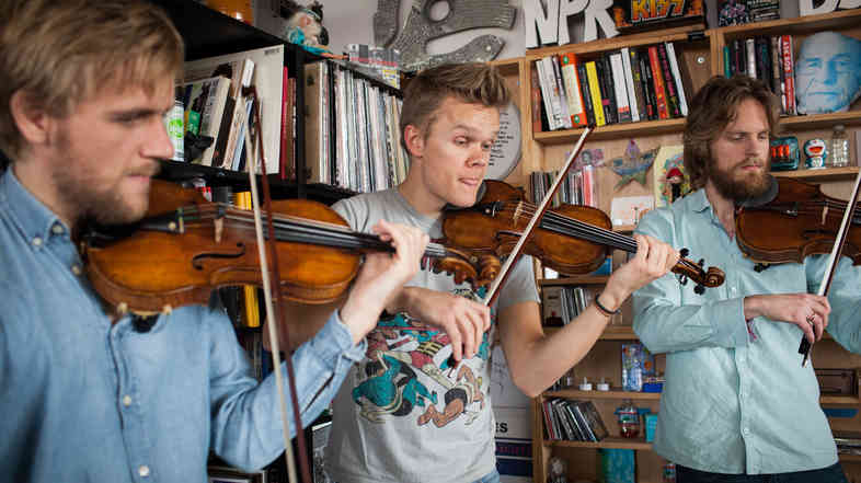 Tiny Desk Concert with the Danish String Quartet on October 14, 2014.