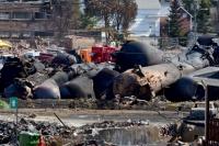 Lac Megantic train explosion via Shutterstock