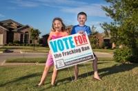 Banning fracking in Denton, Texas