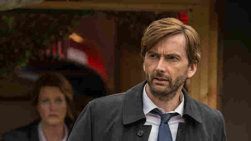 Scottish actor David Tennant stars as a grizzled detective in the BBC's Broadchurch and also the new American adaptation, Gracepoint.