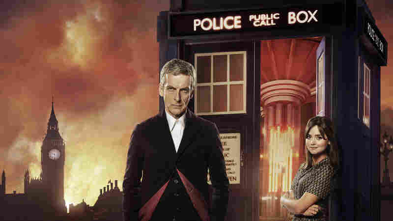 Peter Capaldi and Jenna Coleman star in the BBC series Doctor Who.