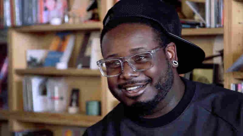 Tiny Desk Concert with T-Pain on October 27, 2014.