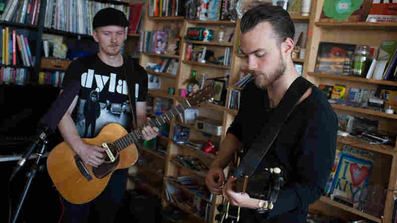 Tiny Desk Concert with Ásgeir on October 6, 2014.