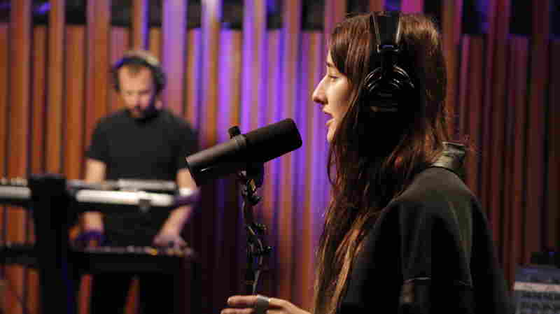 Zola Jesus performs on KCRW's Morning Becomes Eclectic.