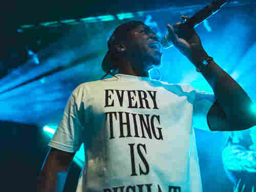 Watch the chart-topping rapper perform a no-holds-barred set at Le Poisson Rouge in New York City.