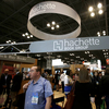 Visitors walk through the Hachette Book Group's exhibition in May at BookExpo America, the annual industry convention in New York.