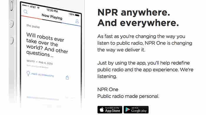 Meet the new NPR One, a digital listening app that blends NPR and Member Station news.