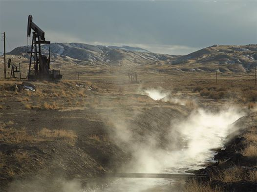 """Photo: High levels of airborne chemicals found near oil and gas sites: http://bit.ly/13lmguk  """"The implications for health effects are just enormous"""" said report author and director of the University at Albany's Institute for Health and the Environment."""