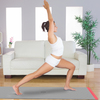 The SmartMat is a responsive yoga mat that seeks to improve one's yoga practice. Microsensors embedded in the mat record and provide adjustments to the user in real time.