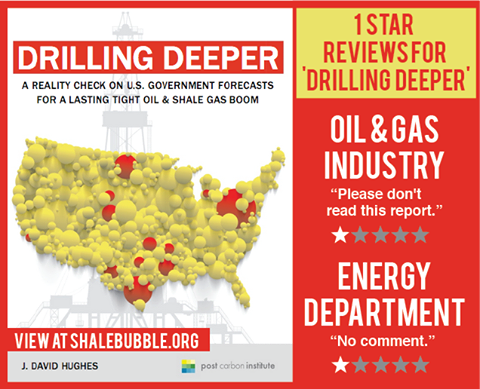 See the report that the oil and gas industry **doesn't want you to find out about: http://bit.ly/drillingdeeper**  LEARN MORE on December 9th at 5:00 pm PST: http://bit.ly/shalebriefing