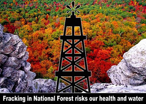 Fracking in a National Forest?   The Obama administration announced today that it will allow fracking in parts of the George Washington National Forest. http://bit.ly/14G9ib5