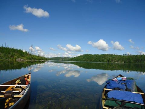 Does this look like the place for a risky sulfide mine?  The Boundary Waters Canoe Area Wilderness is threatened by mining, but you can help protect it.  TAKE ACTION: sign the petition to protect the Boundary Waters! http://bit.ly/1ESzES0