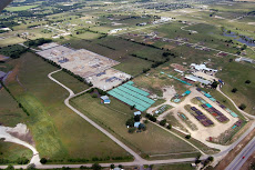 Aerial View of DISH TX Natural Gas Compressor Stations
