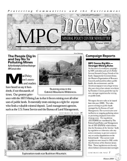 MPC News—winter 2000