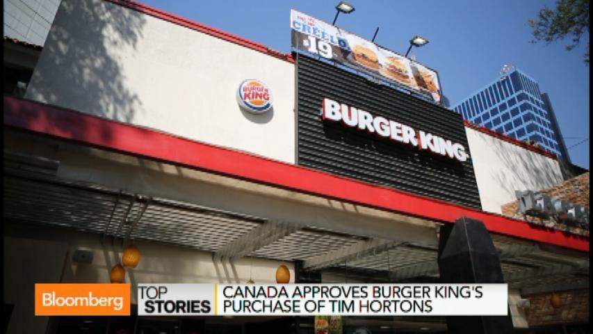Burger King-Tim Hortons Deal Gets Canadian Approval (Video)