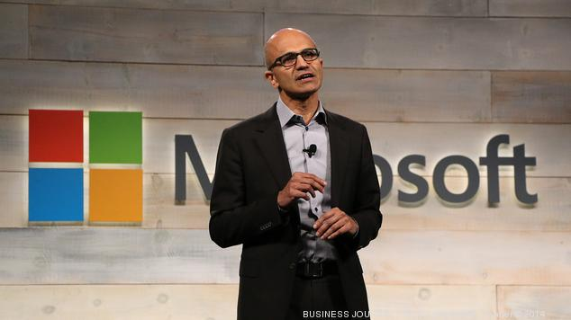 Nadella's $90 million payday approved