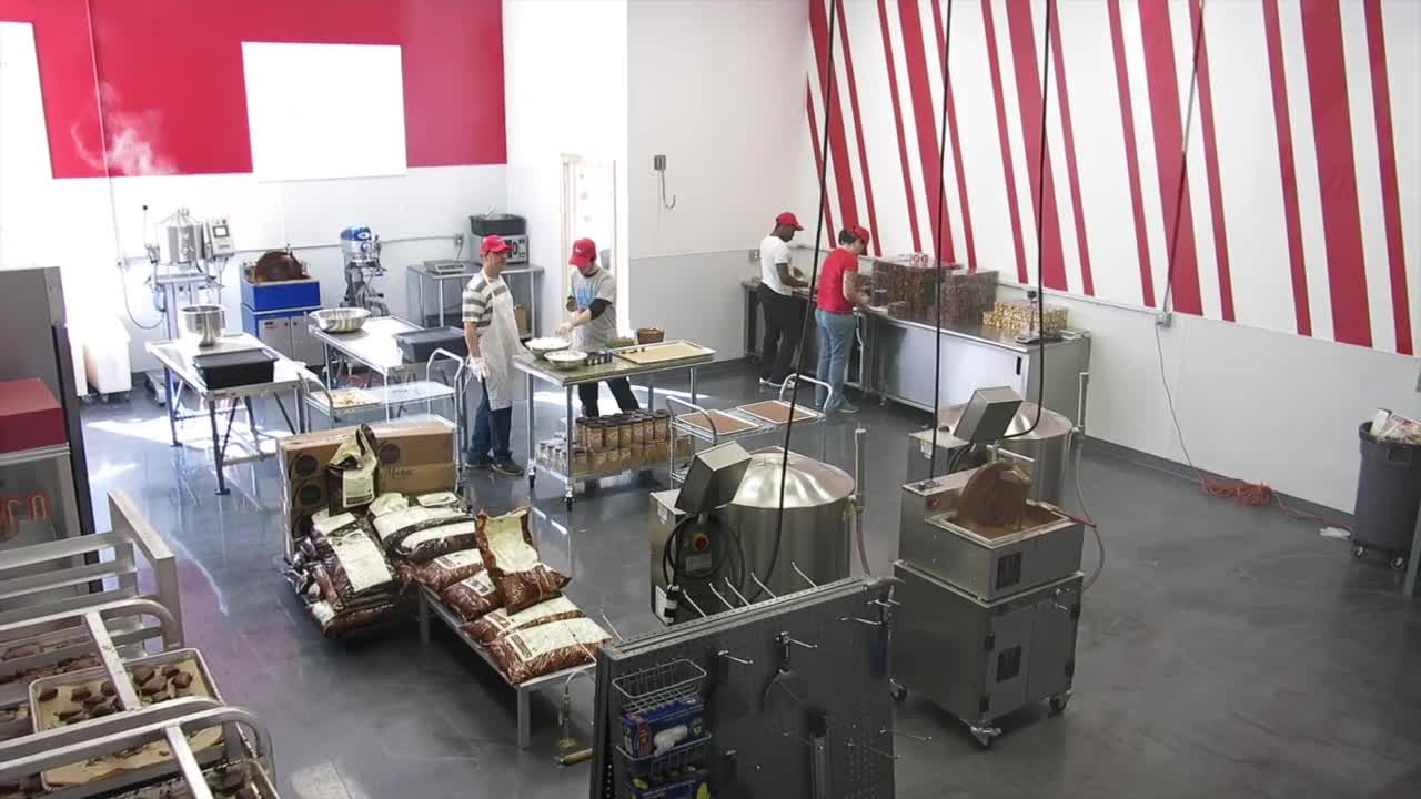 VIDEO: A tour of Sweet Pete's candy factory (Video)