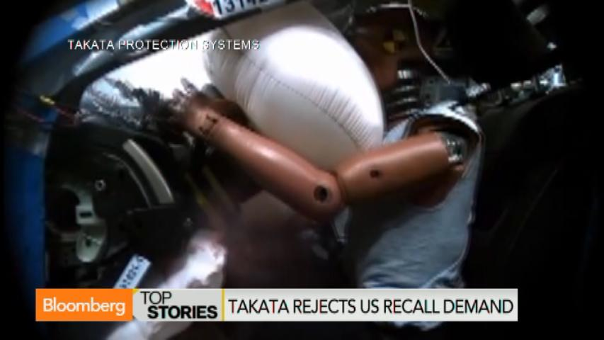Toyota calls for industrywide testing for Takata airbags, Nov. sales up (Video)