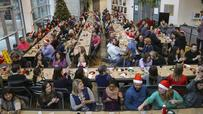 Move over, Scrooge, the office party is back