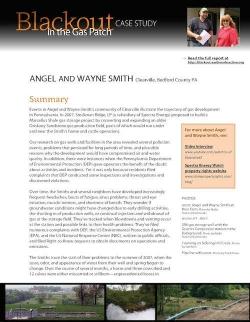 Blackout Case Study 4 - Angel and Wayne Smith