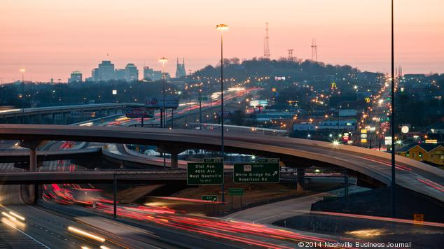 Census data: Nashville among fastest-growing U.S. cities -- but some top competitors are even faster