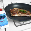 The Pantelligent frying pan uses a smartphone app to control cooking temperature.