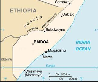 Suspected al-Shabaab twin bombings in southern Somalia targeted popular restaurant