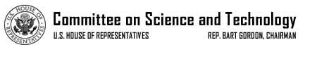 Committee on Science, Democratic Caucus
