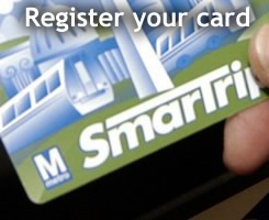 Register your SmarTrip card