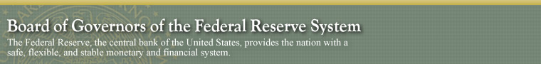 Board of Governors of the Federal Reserve System. The Federal Reserve, the central bank of the United States, provides the nation with a safe, flexible, and stable monetary and financial system.