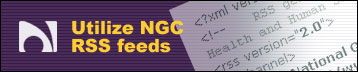 Utilize NGC RSS Feeds