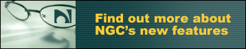 Find out more about NGC's new features